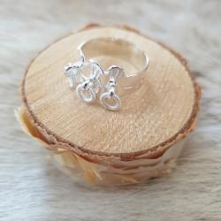 Ring Dekorationsringar Silver
