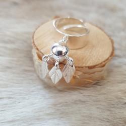 Ring Tre Löv Silver