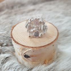 Ring Silver Fyrkantig Juhls