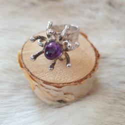Ring Silver By Juhls Purple...