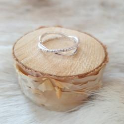 Ring Silver Dubbel