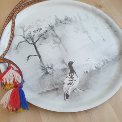 Tray Grouse