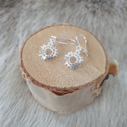 Earrings Sun Small