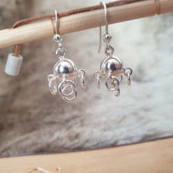 Earrings Silver Sami Komse