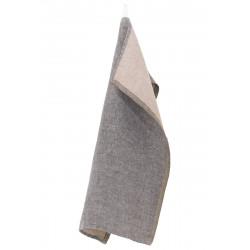 Tea Towel Linen Brown