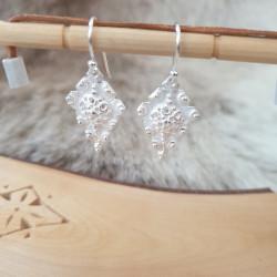 Örhängen Löv Silver