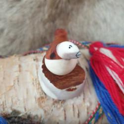 Skulptur Ripa Renhorn Björk...