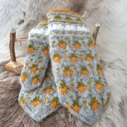 Gloves Wool Cloudberry