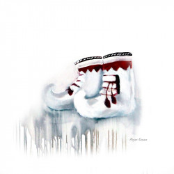 Artprint Shoe Art Miriam