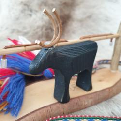 Reindeer Black Wood High