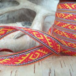 Fabricstripe Yellow Red...