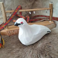 Grouse Wood Large White