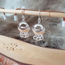 Örhängen Tre Ringar Silver