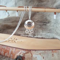 Halsband Tre Ringar Silver