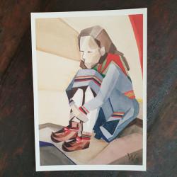 Artprint Longing A V Waara