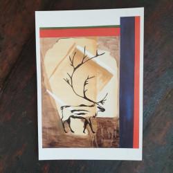Artprint The Reindeer A V...