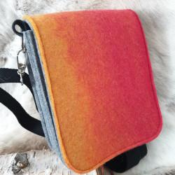 Väska Ull Orange