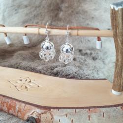 Earrings Sami Komse Silver