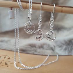 Halsband Ren Silver