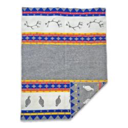 Wool Blanket Skum&Skum Grey/Multi