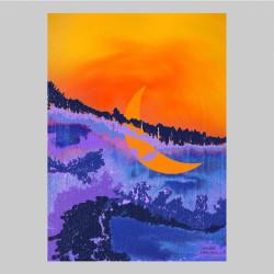 Konstkort Längtan Art Miriam