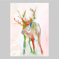 Artprint Reindeer Art Miriam