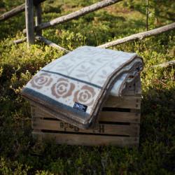 Wool Blanket Rosengård Brown