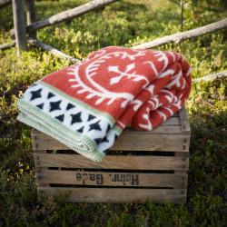 Wool Blanket Albertus Red