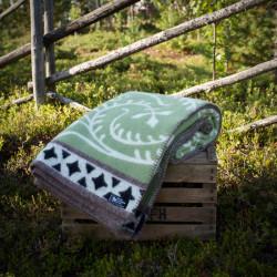 Wool Blanket Albertus Green