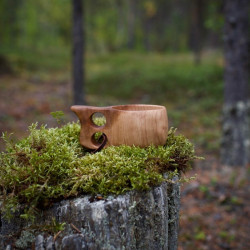Cup Birch Two Holder