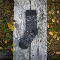Wool Socks Grey