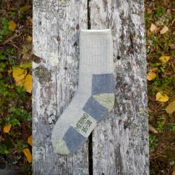 Wool Socks Merino Grey Green