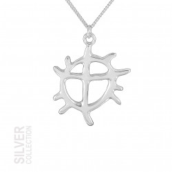 Necklace Sun Silver