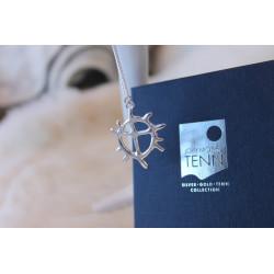 Halsband Sol Silver