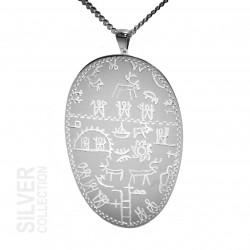 Halsband Ceremonitrumma Silver Från Jokkmokks Tenn
