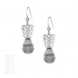 Earrings Spoon Silver By Jokkmokks Tenn