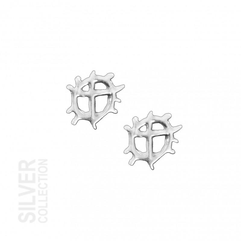 Earrings Sunwheele Small Silver By Jokkmokks Tenn