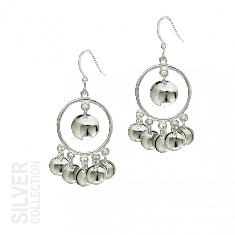 Earrings Sunlight Small Silver By Jokkmokks Tenn