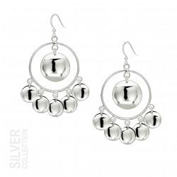 Earrings Sunlight Large Silver By Jokkmokks Tenn