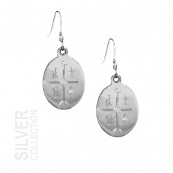 Earrings Magic Drum Silver By Jokkmokks Tenn
