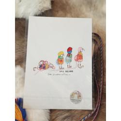 "Fine Art Print ""Small Scouts"" By Lina Maria Viitala"