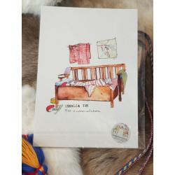 "Fine Art Print ""Icy Toes"" By Lina Maria Viitala"