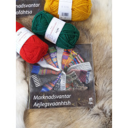 Book Knitting Gloves Swedish/Sami