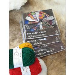 Book Knitting Gloves Swedish/Sami