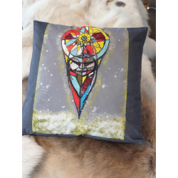 """Pillowcase """"Intuition"""" By Ulrika Tapio Blind"""