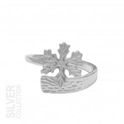 Ring Snowflake Silver By Jokkmokks Tenn