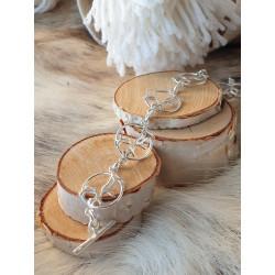 Bracelet Reindeer Silver