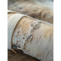 Armband Ren Silver