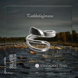 Ring Kukkolaforsen Silver By Jokkmokks Tenn