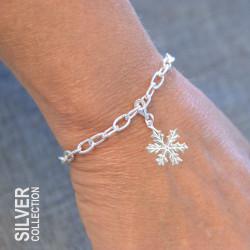 Armband Snöflinga Silver Från Jokkmokks Tenn